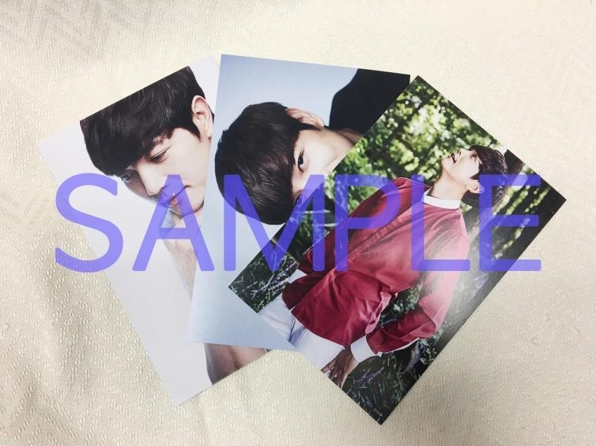 ソ・ドヨン ポストカード3枚組 Dセット